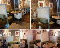 Restaurant tafelscheidingswand